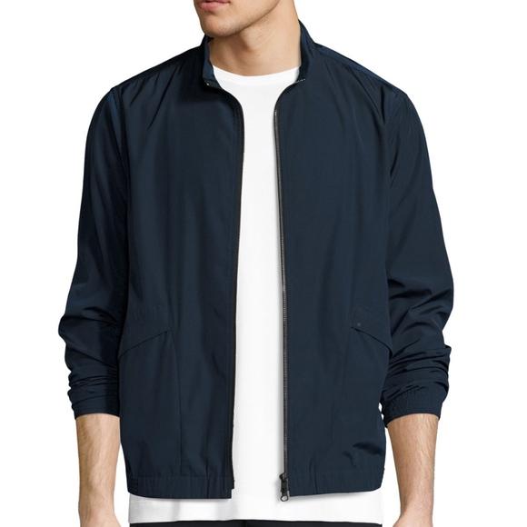 53331286c2 Theory Jackets & Coats | Mens Drafted Zip Blouson Bomber Jacket Xl ...